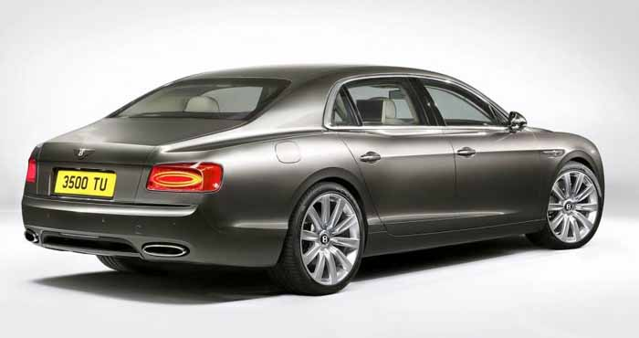 Bentley Flying Spur Belakang