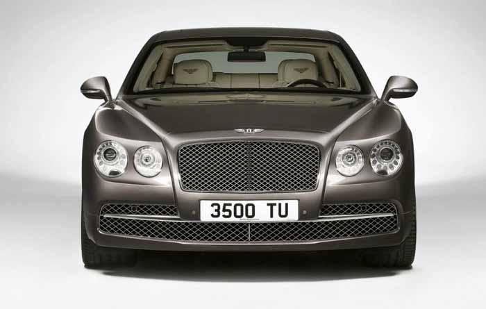 Bentley Flying Spur Depan