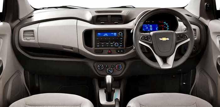 Chevrolet Spin Interior