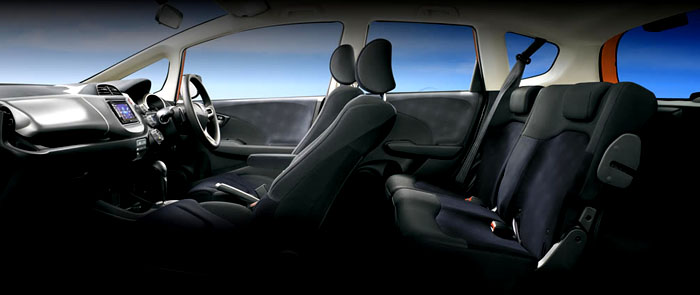 , New Honda Jazz RS Facelift 2013 Interior: New Honda Jazz RS Facelift 2013 Interior