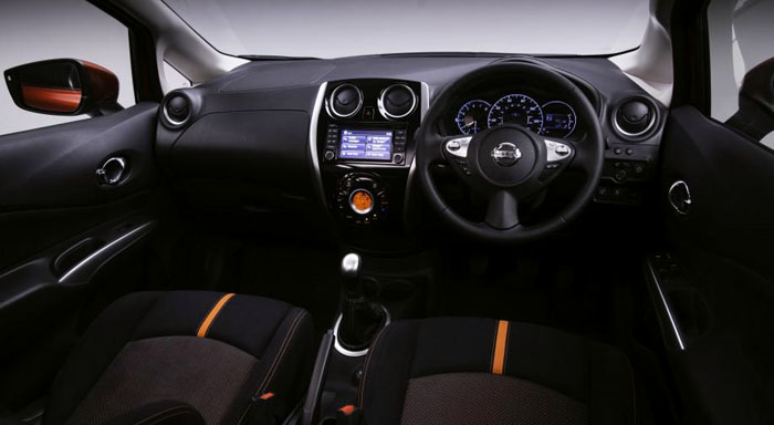 New Nissan Note Interior