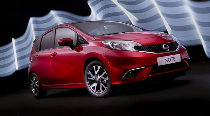 New Nissan Note Red