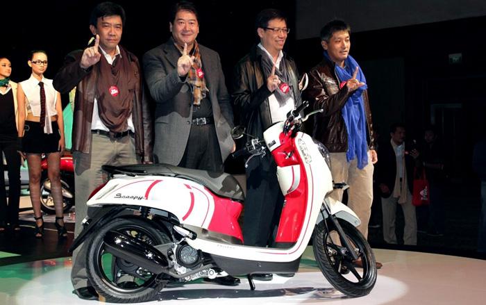 Peluncuran Honda Scoopy FI