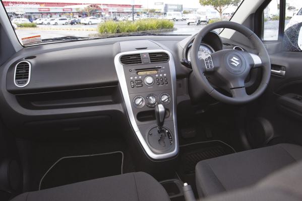 Suzuki Splash Matic Dashboard