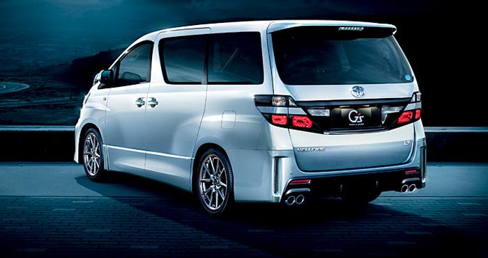 Toyota Velfire GS Belakang