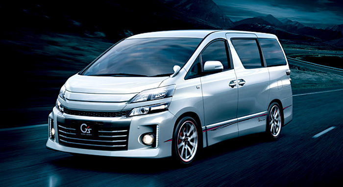 Toyota Velfire GS Indonesia
