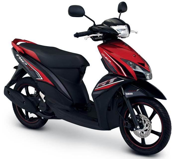Motor Baru, Yamaha Mio GT Merah: Yamaha Mio GT Diluncurkan Noah!