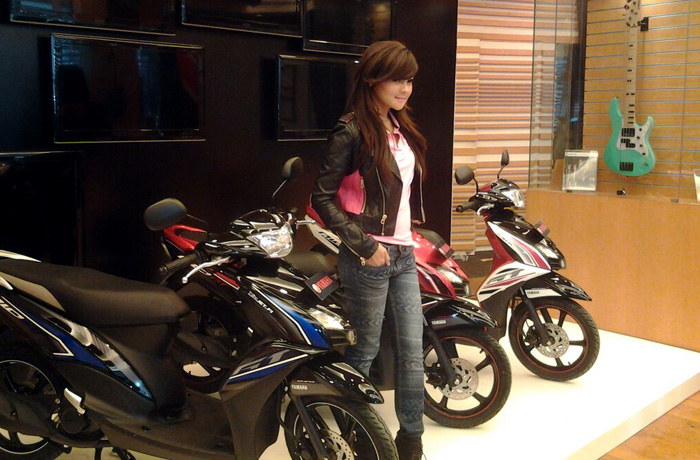 Yamaha Mio GT Model