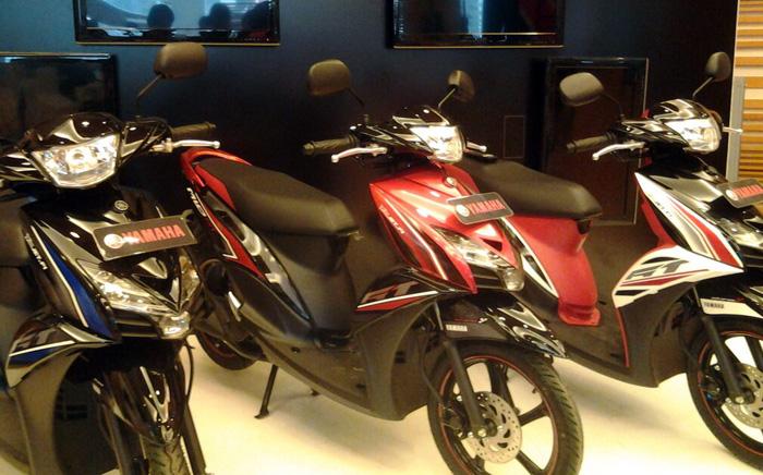 Motor Baru, Yamaha Mio GT Warna: Yamaha Mio GT Diluncurkan Noah!