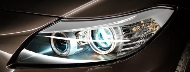 Dua lampu bulat BMW