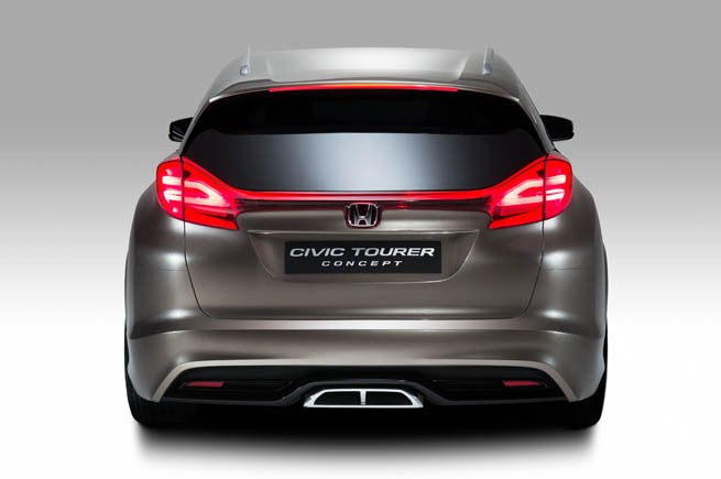 , Honda Civic Tourer Concept: Honda Civic Tourer Concept