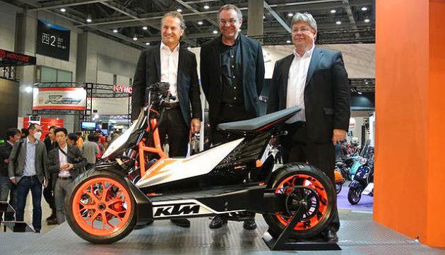 KTM E-Speed di ajang Tokyo Motorcycle Show 2013
