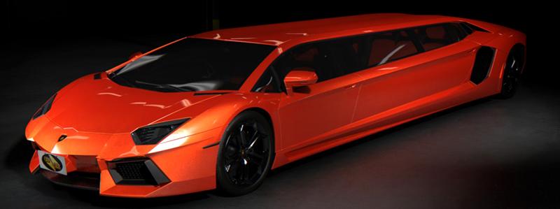 International, Lamborghini Aventador Limo: Lamborghini Aventador Limo Untuk Sang Bintang