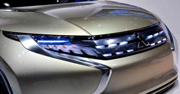 Mitsubishi GR-HEV Concept strada triton