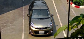 Nissan March Facelift samping