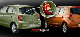 Velg Nissan March facelift baru 2013