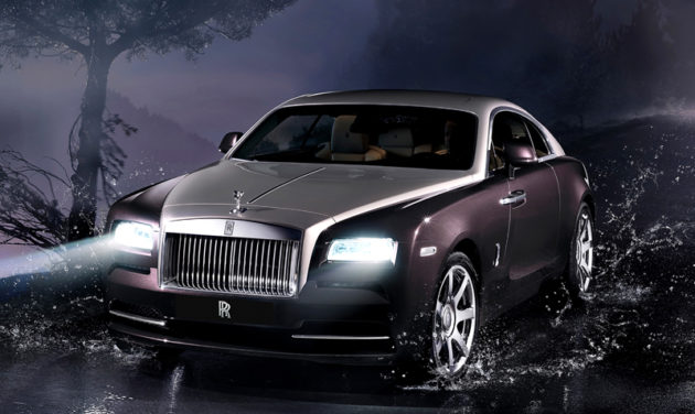 Rolls-Royce Wraith Wallpaper