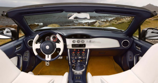 Toyota 86 Convertible Dashboard