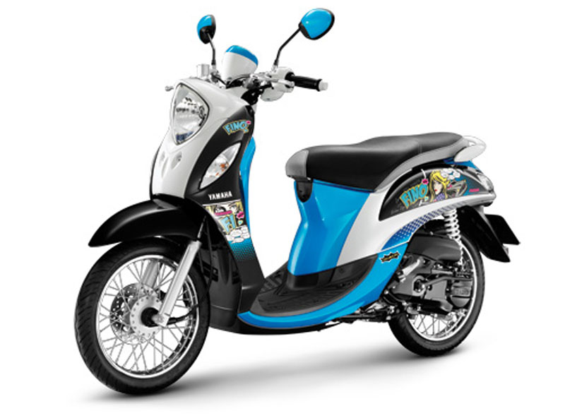 Motor Baru, Yamaha Fino Injection: Yamaha Fino Injeksi Diluncurkan di Thailand