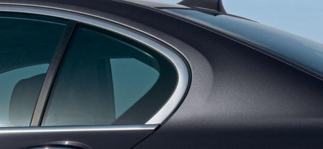 kaca belakang BMW