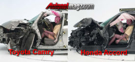 Toyota Camry vs Honda Accord Crash Test
