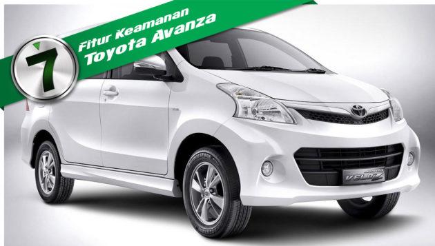 Fitur Keamanan Toyota Avanza