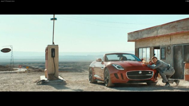 Film pendek Jaguar F-Type 2013