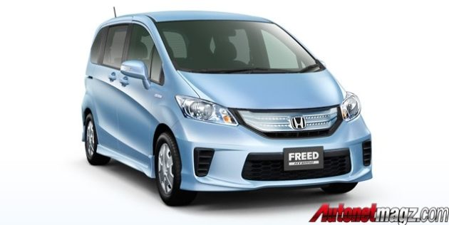 Honda Freed Hybrid gambar