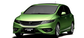 Honda Jazz Jade Dashboard