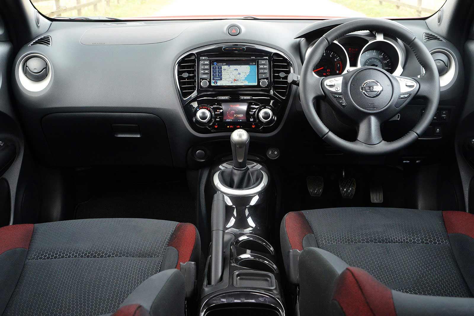 nissan juke interior. nissan meluncurkan juke ntec dengan fitur canggih interior