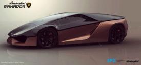 Lamborghini Ganador belakang