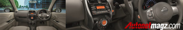 Nissan March Facelift Interior
