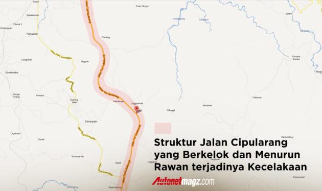 Struktur Jalan Cipularang Rawan Kecelakaan