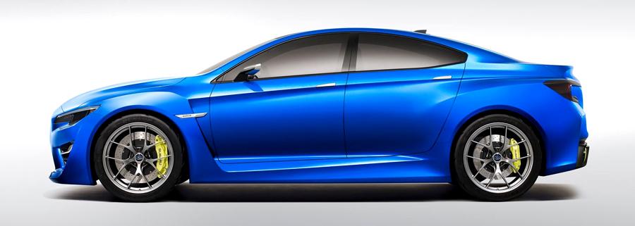 Subaru WRX Konsep samping