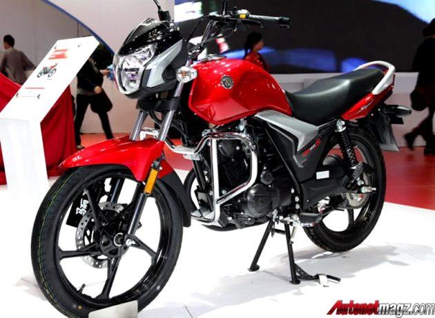 Suzuki EN150S merah