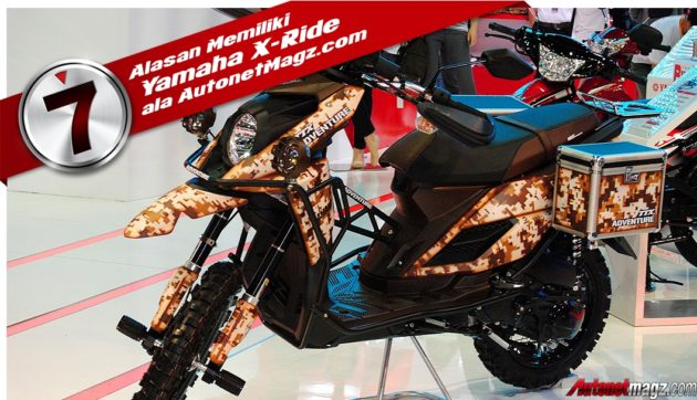 asesoris Yamaha X-Ride