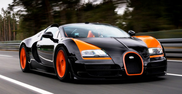 Bugatti Veyron Grand Sport Roadster black