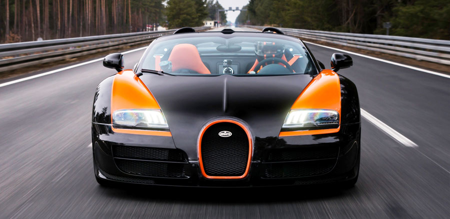 Bugatti, Bugatti Veyron Grand Sport Roadster: Bugatti Veyron Grand Sport Vitesse World Record Car Edition Capai 408.84 Km/Jam!