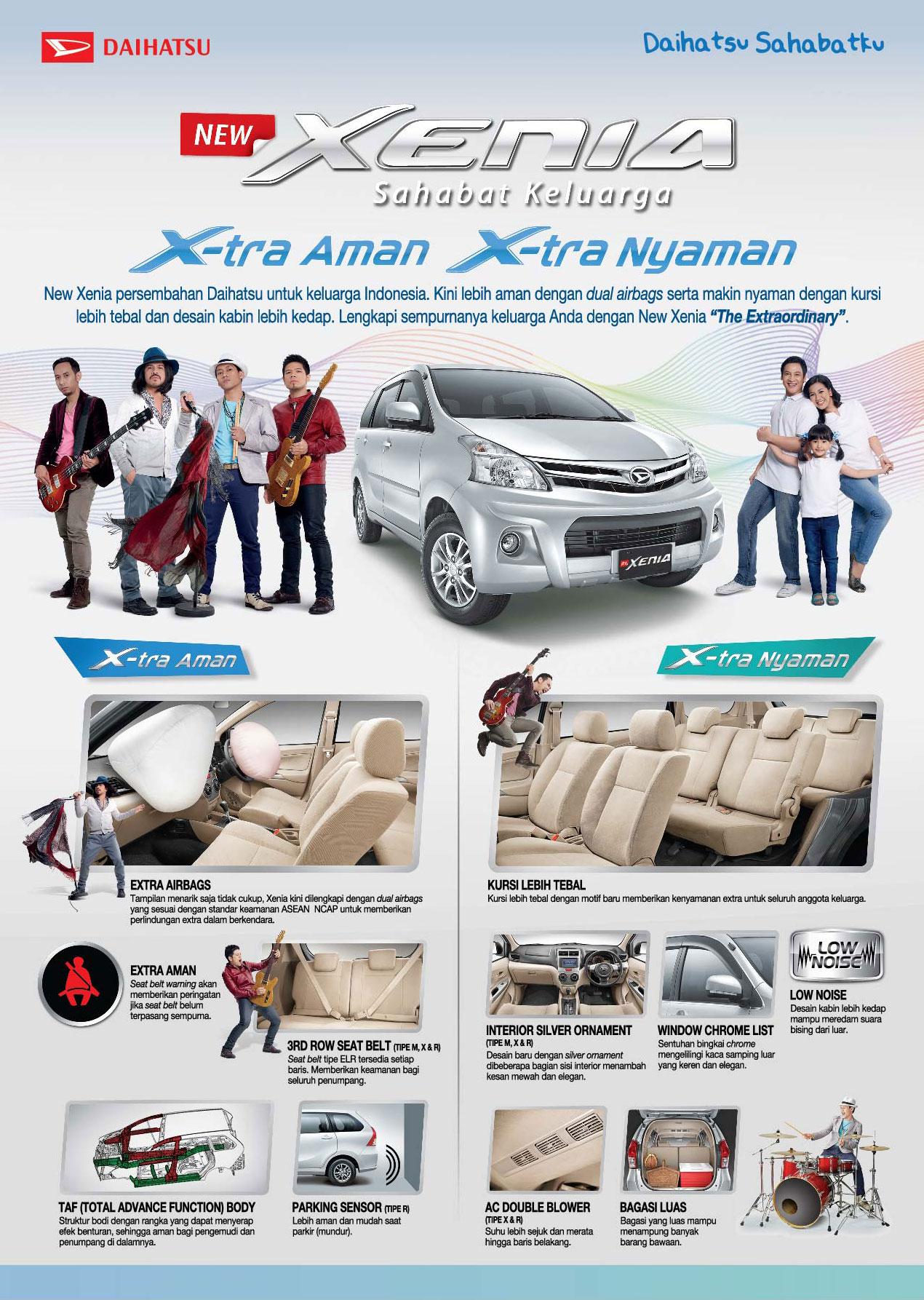 Daihatsu, Daihatsu All New Xenia Airbag: Nih Harga New Daihatsu Xenia 2013 Dengan Airbag!