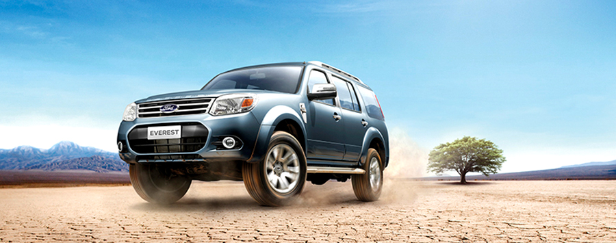 Ford Everest Facelift Indonesia