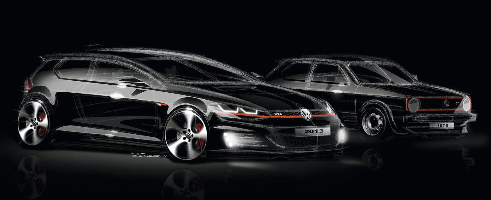 Foto Keren Volkswagen Golf GTI MK7-17