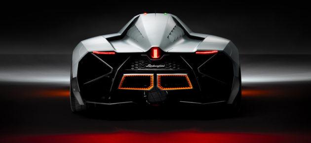Lamborghini Egoista belakang