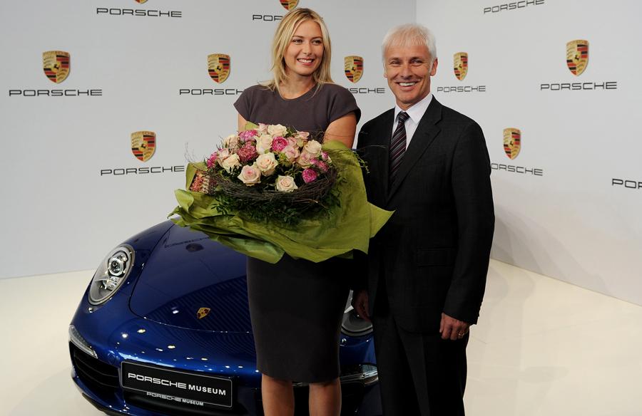 Maria Sharapova Porsche museum
