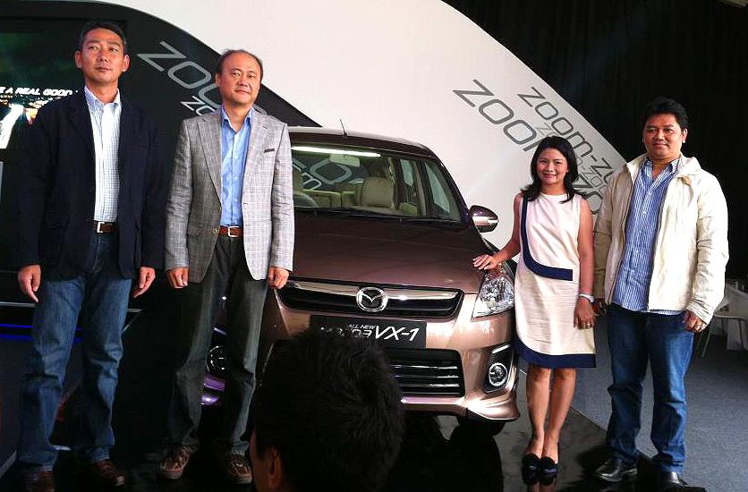 Berita, Launching Mazda VX-1 di Otobursa Tumplek Blek Senayan: Mazda VX-1 Resmi Diluncurkan di Otobursa Tumplek Blek
