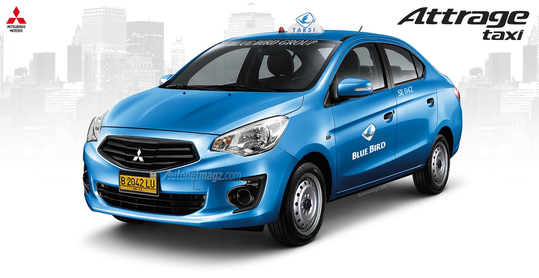 Mitsubishi Attrage Taksi : Taksi Paling Irit Nih ...