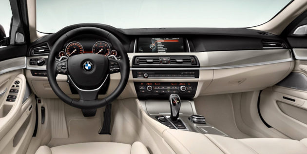 New BMW Seri 5 Facelift dash
