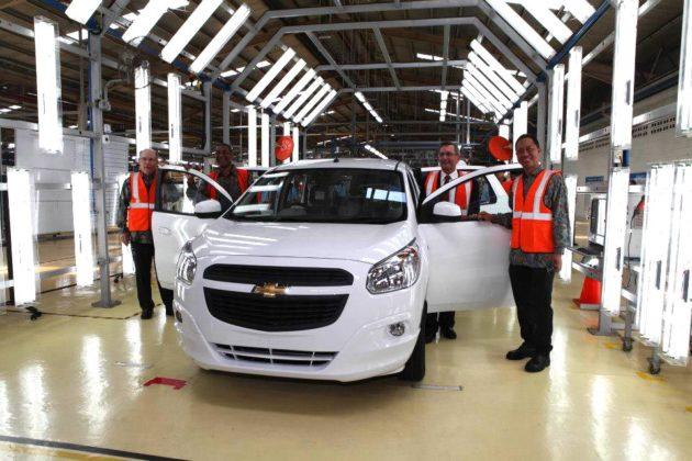 Pabrik Chevrolet Spin di Bekasi