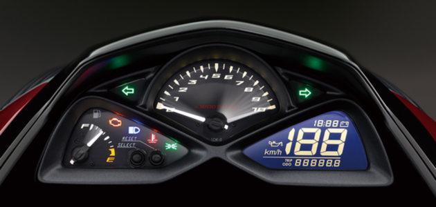 Yamaha S-Max 155 speedometer