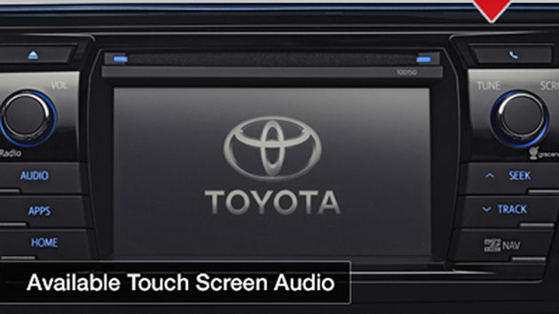 Head Unit touchscreen Toyota Corolla 2014