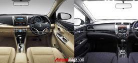 Komparasi Toyota New Vios vs Honda City 2013 oleh AutonetMagz.com